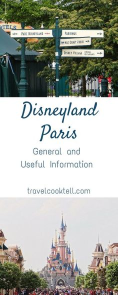 Disneyland Paris: General and Useful Information | Travel Cook Tell