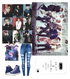 """Untitled #76"" by cielaphantomhivemichaelis on Polyvore featuring WithChic and Converse"
