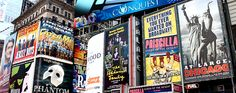 TO VISIT: New York City, especially the Theater District