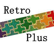 Peyote Bead Pattern Retro Plus Fabric Beaded Cuff Bracelet 2 Drop Peyote Digital PDF Pattern
