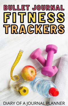 Keep to your workout schedule / weight loss goals with this brilliant bullet journal fitness tracker idea! #fitnesstracker #Bulletjournaltrackers #weightloss Bullet Journal Exercise Tracker, Bullet Journal Period Tracker, Bullet Journal Health, Bullet Journal Hacks, Bullet Journal Printables, Bullet Journal Mood, Mood Tracker, Goal Journal, Fitness Journal
