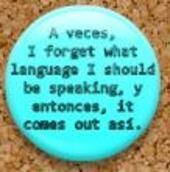 The only language that I am very fluent in is Spanglish. Spanish Jokes, Funny Spanish Memes, Spanish Lessons, Spanish Teacher, Spanish Classroom, Teaching Spanish, Puerto Rico, Mexican Problems, Teacher Hacks