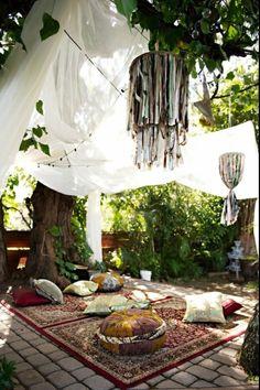 #backyard
