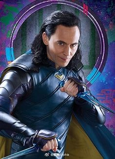 Just Tom Hiddleston — lolawashere: Loki. Promo art, fan art, I don't...