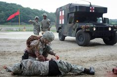 The Army healthcare specialist has another name by which it is recognized by the general public. The combat medic. These Soldiers are trained to perform all the tasks of an emergency medical technician and more, all while under enemy fire. The job is intense, and their training must reflect that intensity.