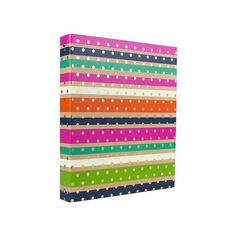 Ring Binder Multi-colored Greenroom ($6.42) ❤ liked on Polyvore featuring school