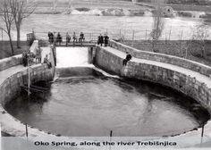 Karst Springs on Old Postcards,