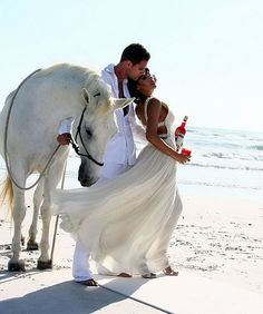 loove the pic w/ the white horse <3