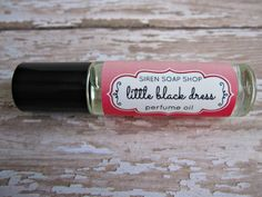Little Black Dress Perfume Oil by SirenSoapShop on Etsy