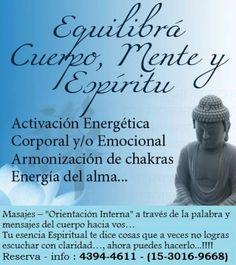 ¡Masajes Energéticos publicados en Vivavisos! http://en-forma-salud.vivavisos.com.ar/belleza-cuidado+retiro/masajes-energeticos--reflexologia--digitopuntura----retiro--/45308754