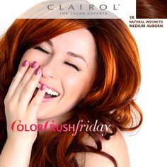 Radiant in Red on Pinterest | Women's Hair Colors, Natural ...