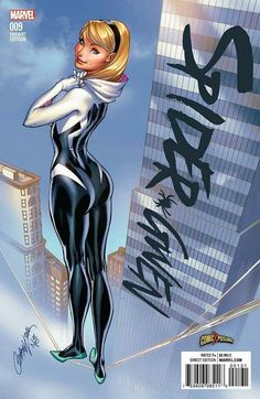 Spider Gwen by J. Scott Campbell