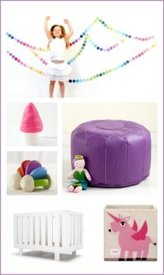 Rainbow nursery theme ideas