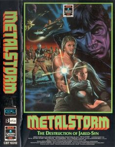 Metalstorm: The Destruction of Jared-Syn (1983) Sci-fi