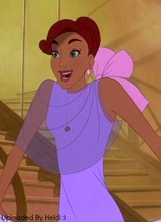 Anastasia - Non-Disney Princess. For her Courage