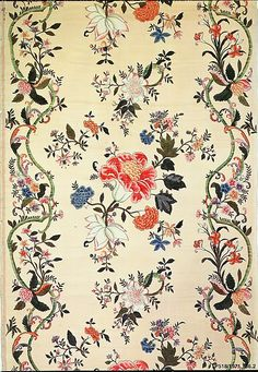 Panel  Date:     early 18th century Culture:     Chinese for export Medium:     Silk, painted