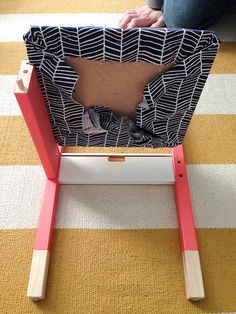 IKEA LATT Chair Hack - how to add cushioning to the chairs