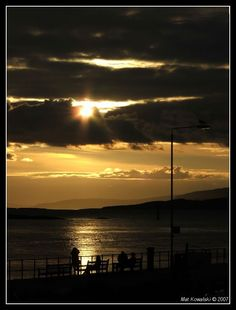 Sunset in Oban, Scotland Copyright: Mat Kowalski
