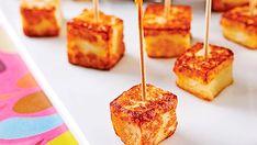 Bouchées de fromage grillé - Recettes de cuisine, trucs et conseils - Canal Vie