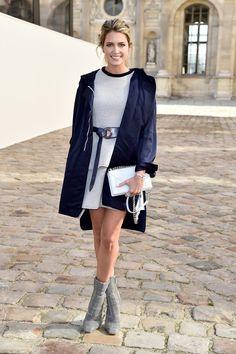 Christian Dior : Outside Arrivals  - Paris Fashion Week Womenswear Fall/Winter 2015/2016 - Helena Bordon