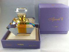 Ajmal II by Ajmal concentrated oil Arabic perfume presented in a crystal flacon http://perfume.zahras.com  info@zahras.com