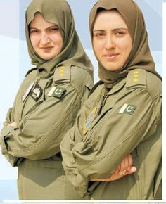 Pilots of Pakistan Air Force.