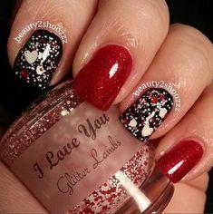 I Love You Nails - #Iloveyou #love #you #polish #Nails #lacquer #Valentine #Gifts #polish #nailpolish #valentinepolish