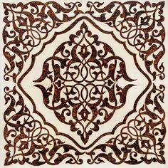 papier peint carrelage arabesque noir et blanc stickers papier peint carrelage adh sif. Black Bedroom Furniture Sets. Home Design Ideas