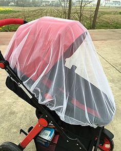 Sinograce Mosquito Net Bug Net for Baby Strollers Infant Carriers White * Details can be found by clicking on the image.-It is an affiliate link to Amazon.