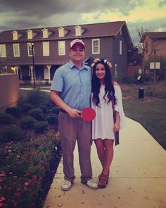 Forrest Gump and Jenny Halloween Couples Costume