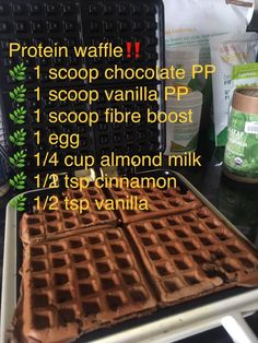 Your food should be BOTH healthy AND delicious! Try this easy delicious and nutritious waffle recipe. Topped with almond butter and fresh berries, it is so satisfying. You will feel good for making a healthy choice, and feel full for hours. Arbonne Shake Recipes, Arbonne Protein Shakes, Arbonne Cleanse, Juice Cleanse, Arbonne Nutrition, Protein Waffles, Healthy Living Recipes, Protein Powder Recipes, Waffle Recipes