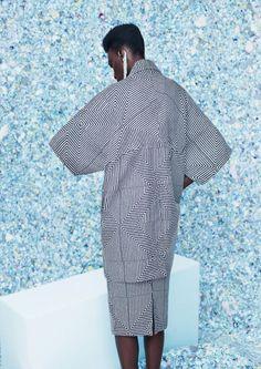 South African fashion label KISUA. #Japan inspired #kimono