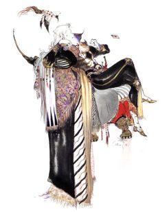 Yoshitaka Amano Sephiroth