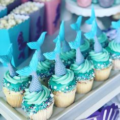 Taylor's 6th Birthday Mermaid party | CatchMyParty.com