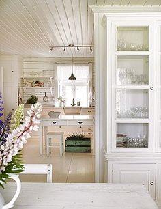 norwegian cottage kitchen