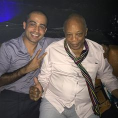#Larvotto Great night, great memories and great people with the living legend Quincy Jones. #aboutlastnight #amazing #fun #greatmusic #instadaily #life #memories #night #jimmy'z #monaco #wow #quincyjones by habib_paracha from #Montecarlo #Monaco