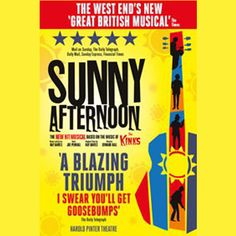 Sunny Afternoon Theatre Package