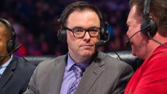 The WWE and former SmackDown play by play announcer Mauro Ranallo have now officially parted ways. Ranallo is still under contract with the company through August but he and the WWE are both acknow. Raw Wrestling, Wrestling Videos, Wrestling News, Mauro Ranallo, Wwe Raw Videos, Nxt Takeover, Stephanie Mcmahon