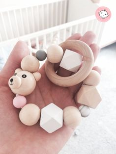 wood teether
