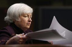 4: U.S. Federal Reserve Chair Janet Yellen. REUTERS/Jonathan Ernst