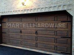 Agave Ironworks Wrought Iron Decorative Garage Door Hardware Kits To Dress  Up Any Plain Garage Door Or Carriage Door.