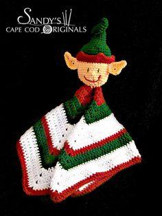 Elf Lovie Blaket Crochet Pattern PDF 635. $2.25, via Etsy. @capecodcrochet