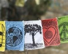 DIY prayer flag - - Yahoo Image Search Results