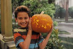 Agent P pumpkin. So cute! Check Out Your Favorite Disney Channel Stars Halloween Pumpkins #AgentP #DisneyChannel