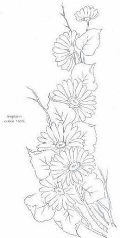 20 ideas embroidery patterns mandala flower for 2020 One Stroke Painting, Tole Painting, Fabric Painting, Ribbon Embroidery, Embroidery Patterns, Colouring Pages, Coloring Books, Flower Sketches, Parchment Craft