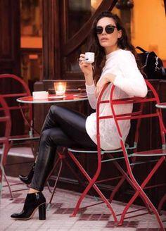 Emilia Attias da cátedra de street style - ¡HOLA!