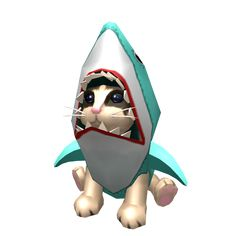 Shoulder Shark Cat - ROBLOX