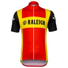 TI Raleigh Retro Short Sleeve Cycling Jersey | Freestylecycling.com