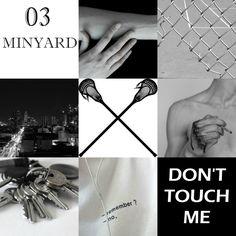 Andrew Minyard moodboard