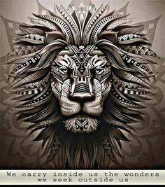 Lion Chest Tattoo, Lion Tattoo, Arm Tattoo, Tattoo Pierna Mujer, Tattoo Brazo Mujer, Tigre Tribal, Elefante Tribal, Hand Tattoos For Guys, Cool Tattoos